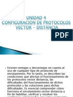 Unidad 4 Configuracion de Protocolos Vector Distancia