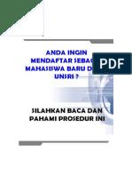 Prosedur Pendaftaran 2015 Oke