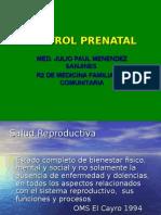 Exposicion de Control Prenatal