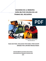 Tesis Memorias de Dictadura Chile