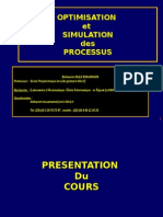 simulation des procédés