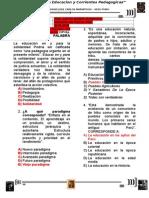 evaluacion Historia de la educacion y corrientes pedagogicas.doc