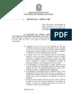 Resolucao CEPEC 2008 Edital de Ingresso