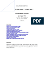 Molecular Weights of Polymers
