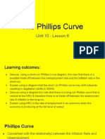 unit 10 - lesson 6 - the phillips curve
