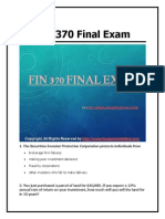 FIN 370 Final Exam 30 Questions With Answers