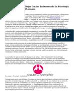 Centro Eleia Es Tu Mejor Opcion En Doctorado En Psicologia Clinica Centro ELEIA.edu.mx