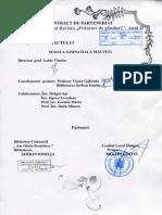 Proiect de Parteneriat Revista Frânturi de Gânduri Anul II 2015
