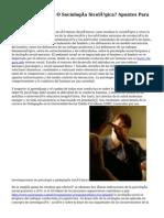 ¿Sicología Social O Sociología Sicológica? Apuntes Para El Discute.