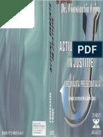 Acţiuni Urgente În Justiţie. Ordonanţa Preşedinţială - Teorie Şi Practică Judiciară - C.crişu - 2002