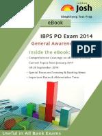 IBPS PO Exam 2014 General Awareness (Current) eBook
