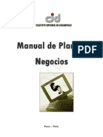 Manual de Plan de Negocio - CID