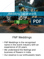 FNP Weddings - The Best Wedding Decorator in India
