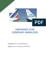 Airfrance Analysis