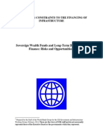 WBG Sovereign Wealth Funds and Long Term Development Finance Risks and Opportunities