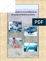 An Assessment of Current Methods for Surveying and Monitoring Wolves 2005
