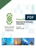 Khazanah the Role of GLCs - Sept 2006