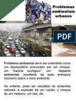 Problemas Ambientais Urbanos