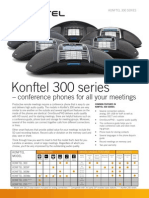 Konftel 300 Series – conference phones for all your meetings