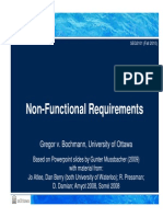 Non Functional Requirements Qualities