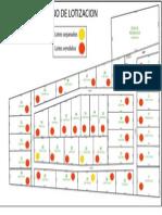 Plano Lotizacion Condominios