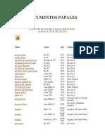 Enciclicas Papales.