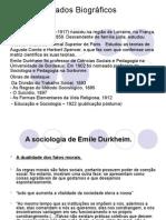 Émile Durkheim Em Slides