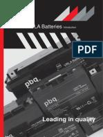Www.psebatteries.com Media Datasheet Pbq Vrla Battery Introduction