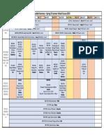 2015 Summer Chart Schedule 0