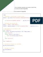 Uso Basico Postgres_php