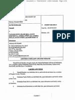 David Mueller v. Taylor Swift, et al - Amended Complaint