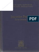 DERECHO PENAL - PARTE GENERAL - Eugenio Raúl Zaffaroni - Alejandro Alagia Alejandro Slokar - 2da. Ed.2002 - EDIAR - Sección Primera