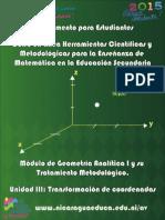 Manual Del Estudiante_Unidad III rectas y circunferencia