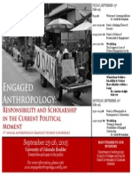engaged anthropology general poster