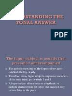 The Tonal Answer