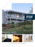 Highland House Flyer
