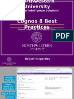 Cognos 8 Best Practices Vol 1