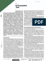 Biodiversity Ecosystem Functioning Soil 1997