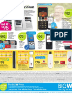 Big W catalogue distributed in Newcastle region (11 March 2010)