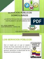 Estratificacion y Servicios Publicos
