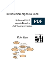 Introduktion Organisk Kemi