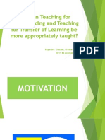 6 -teaching-for-understanding-and-transfer-of-learning-ciocson