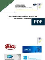 Organismo Insternacionales en Materia de Energía