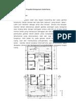 Proyeksi bangunan sederhana SMK kelas XI