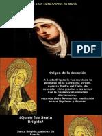 Devoción a Los Siete Dolores de La S. Virgen María