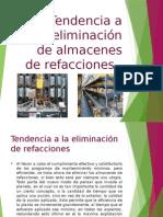 Tendencia a La Eliminacion de Almacenes de Refacciones 4.6