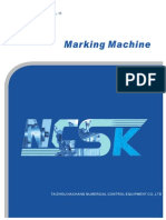 NCSK Marking Machine Catalogue