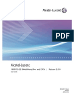 Alcatel-Lucent 1830 PSS-32 RAMAN Amplifier and EDFA Release 2.0.0 User Guide