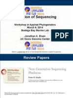 History of DNA sequencing