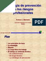 Estrategia de Prevención de Los Riesgos Profesionales. METODO SOBANE - Copia